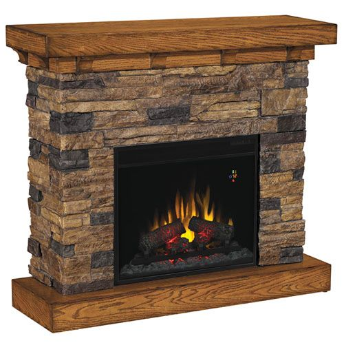 Classic Flame Flagstone Electric Fireplace 23ef025gra
