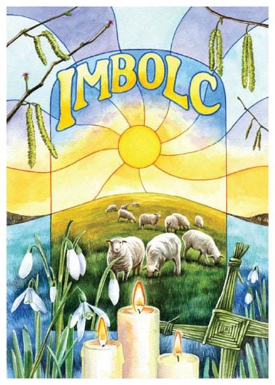 Imbolic..seasonal celebrations when the wheel turns.
