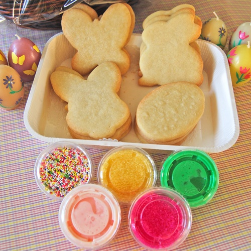 7 best cookie decorating kits images on pinterest christmas easter cookies easter gingerbread houses easter baskets easter pastries and more easter gifts negle Images