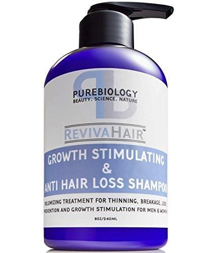 Hair Growth Stimulating Shampoo (Unisex) with Biotin, Keratin & Breakthrough Anti Hair Loss Complex  I started using this a few weeks ago because I noticed my hair has been falling out more than usual. I can already tell a difference! #hairlossbiotin