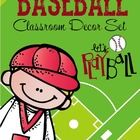 Give your classroom a bright, colorful BASEBALL theme. Included in this set is   * Student Binder covers  * Stationary and Thank You cards * How We...