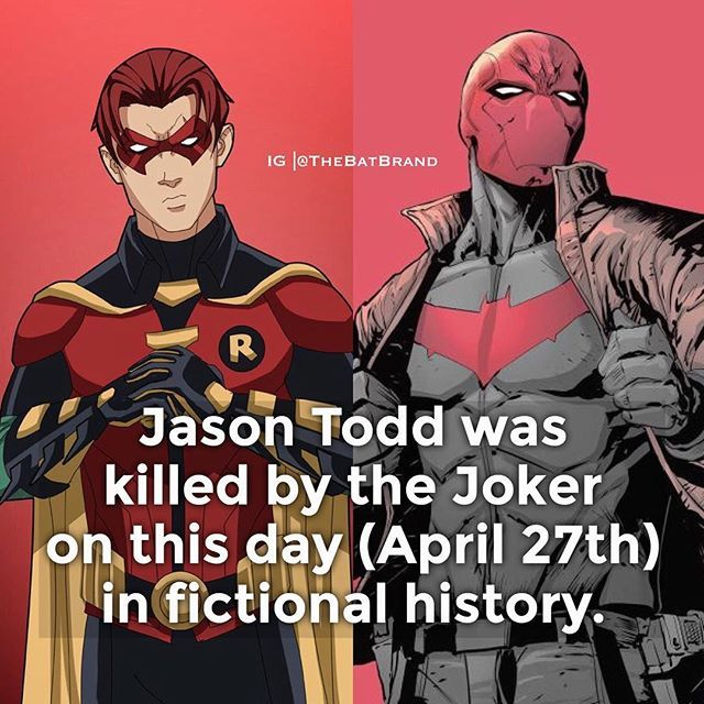 Red hood or Red Robin?