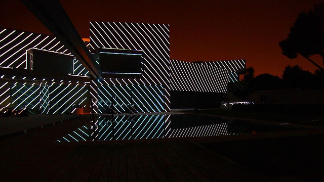"A-cero XV Aniversario. 3D Mapping by onionlab. ""A-cero XV Aniversario"" is a 3D mapping projection directed by Onionlab on the occasion of the 15th anniversary of the architecture studio A-cero. The first six minutes review the three architectural lines followed by the studio throughout its 15-year history, first posing the bases of sculptural origin and finishing off with samples of the most representative works. Finally, Onionlab presents a personal vision of the architecture of the future…"