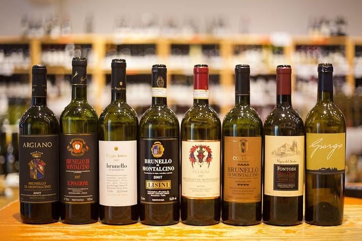 Brunello di Montalcino (+ Chianti Classico Riserva & Toscana)