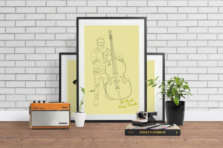 A personal favourite from my Etsy shop https://www.etsy.com/au/listing/522510968/custom-illustrated-musician-portrait