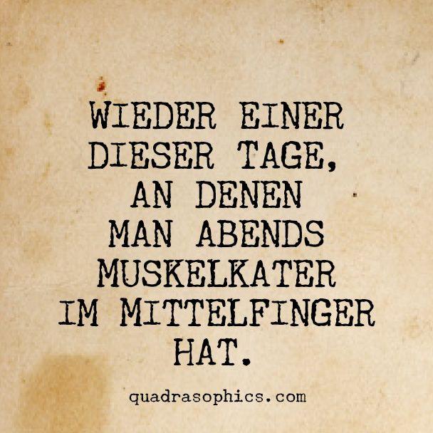 #mittelfinger #muskelkater #fuckyou