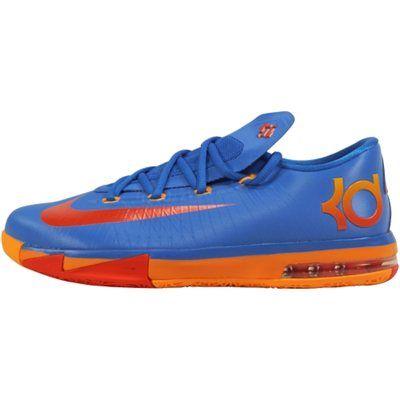 Nike KD VI Elite Youth Basketball Shoe - Photo Blue Team Orange Atomic  Mango  26126cf02e7a