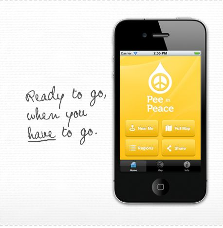 iPhone App for Transgender and Gender Non-Conforming Folks from  Planned Parenthood of the Southern Finger Lakes' LGBT Health and Wellness Project, Out for Health. Pee in Peace is designed to help transgender, gender non-conforming,  and other individuals who do not readily fit into expected and  conventional norms of gender presentation, easily locate single stall or  gender neutral bathrooms in Ithaca, New York.