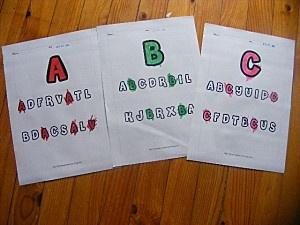 FICHE PS - Fiche A,B et C - Fiche couleur - Petite section :… - Graphisme ligne… - Maths : 1 & 2 - LA CLASSE DE IZAS