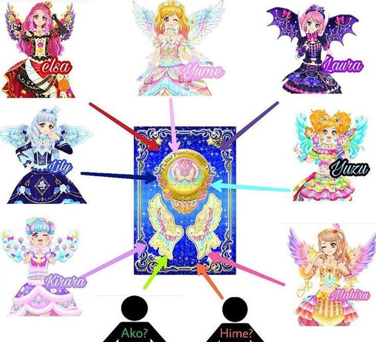 Aikatsu Stars Starry Wings Of The Sun Theory Aikatsu