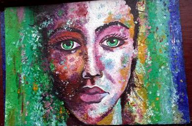 Woman In Colours