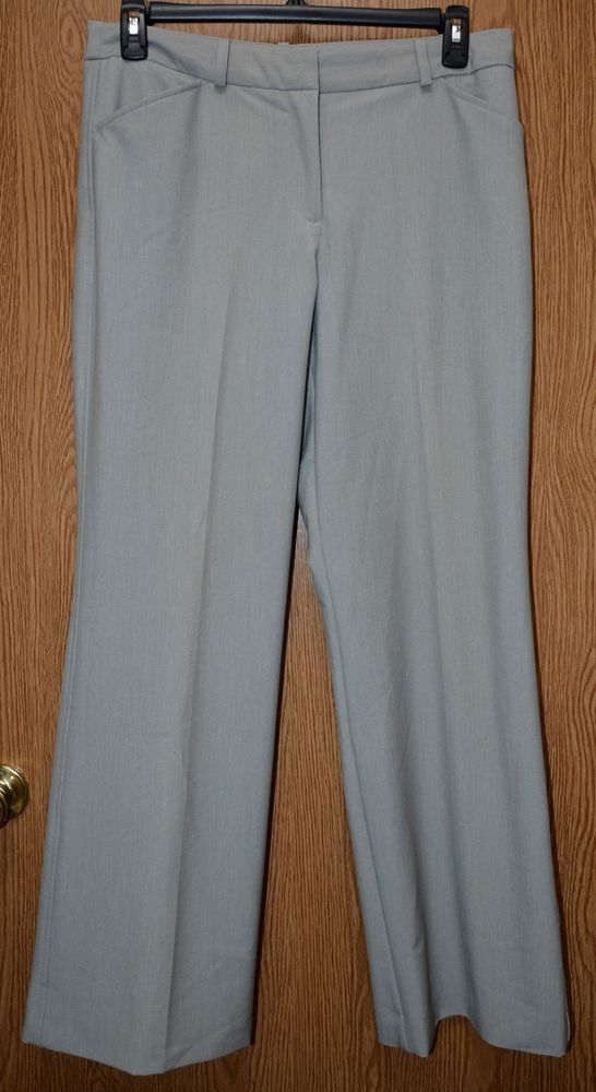 1f1eb4590461 Womens Gray Worthington Flat Front Modern Fit Dress Pants Size 12 excellent  #fashion #clothing #shoes #accessories #womensclothing #pants (ebay link)