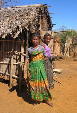 Traditional Madagascar clothing: the lamba