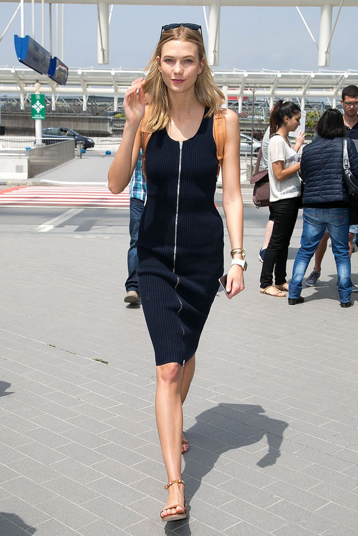 Karlie Kloss Street Style in Cannes #Karlie_Kloss #Woman #Beauty