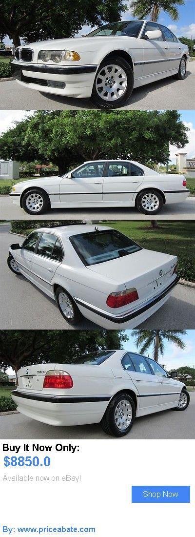 Luxury Cars: Bmw: 7-Series 740I Luxury Sedan 2001 Bmw 740 I Premium Luxury Sedan 77 000 1 Owner Florida Car Gorgeous Must See BUY IT NOW ONLY: $8850.0 #priceabateLuxuryCars OR #priceabate