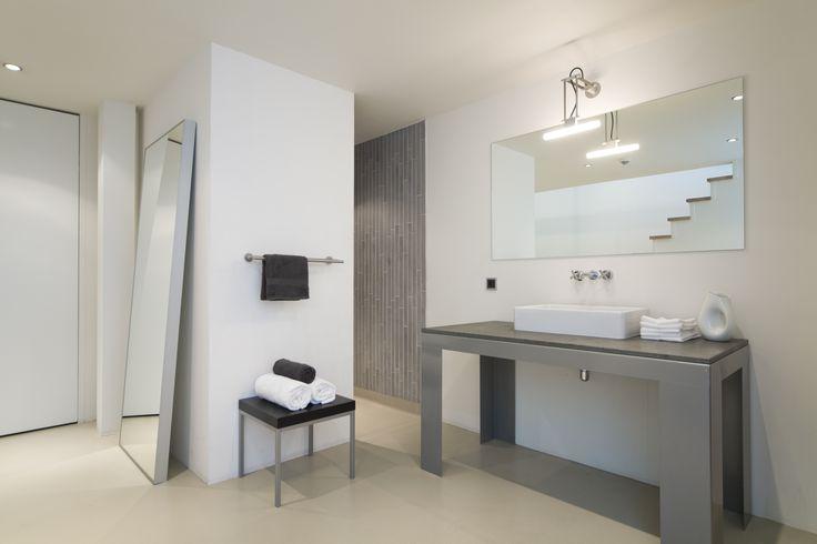 bathroom - Split Level room in STROOM Rotterdam, The Netherlands #urban #hotel #design #boutiquehotel #architecture