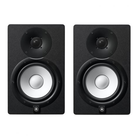 "Yamaha HS7 (Pair) Studio Monitor @ INR 38000. 2-way bass-reflex bi-amplified nearfield studio monitor with 6.5"" cone woofer and 1"" dome tweeter 43Hz - 30kHz frequency response."