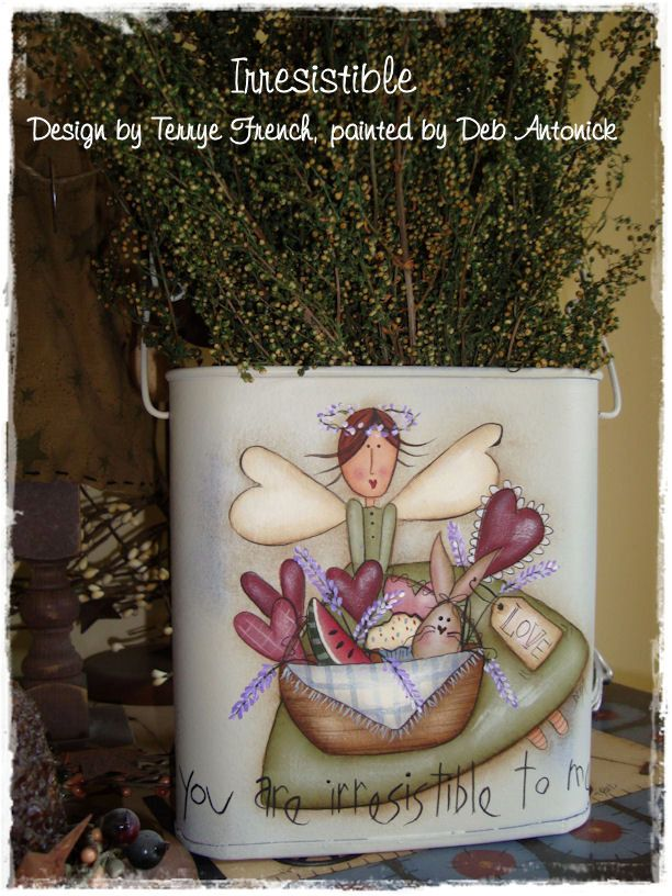 Irresistible by Deb Antonick email por PaintingWithFriends