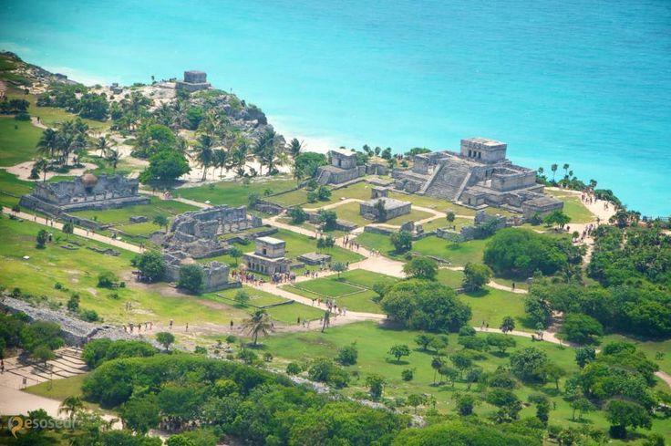 Тулум – #Мексика #Кинтана_Роо (#MX_ROO) Доколумбовый город цивилизации майя Тулум - наиболее привлекательная для туристов достопримечательность. С одной стороны, город довольно хорошо сохранился и представляет культурно-историческую ценность. А с другой, он расположен на побережье и окружен отличнейшими пляжами. http://ru.esosedi.org/MX/ROO/1000145464/tulum/