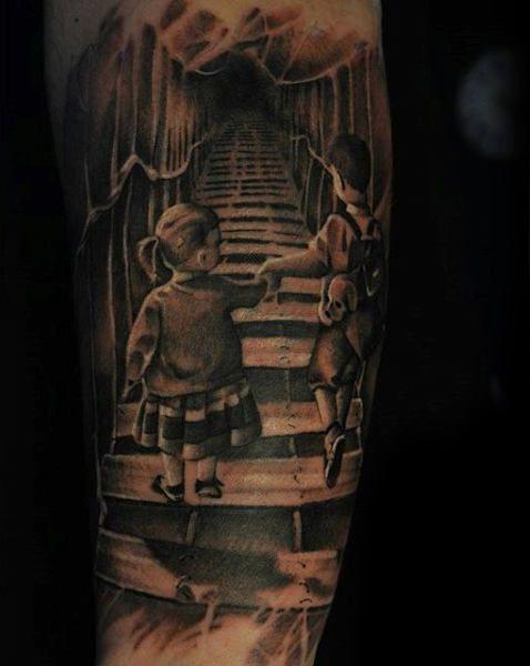Ohana Tattoo Motto Leben Familie Familie