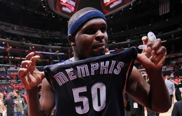 zach randolph of memphis grizzlies