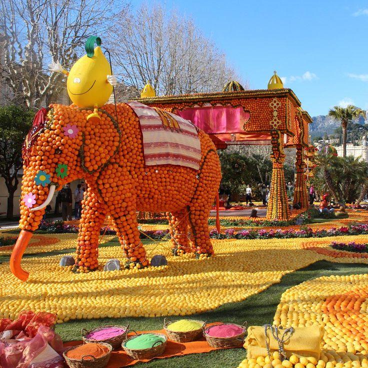 Her yıl Fransa'nın Nice kentinde düzenlenen, 200.000'den fazla izleyiciyi kendine çeken, eğlenceyi, yaratıcılığı, sanatı birbiriyle buluşturan Menton Limon Festivali, izleyicilere turunçgillerin büyüleyici dünyasını keşfetme imkânı sağlar.