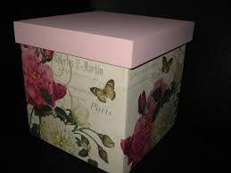 Resultado de imagen para cajas pintadas a mano estilo country