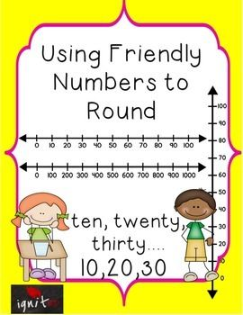 rounding numbers using friendly numbers has lessons that