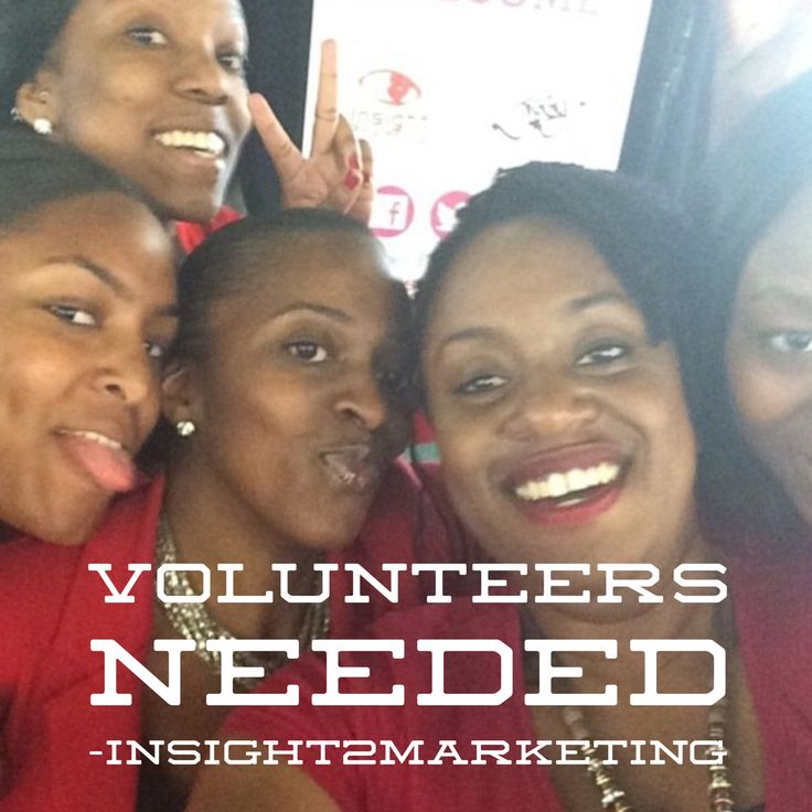 VOLUNTEERS NEEDED  Want experience in marketing & events?  Here are a few members of the i2M team. We're a mixed and diverse group of friendly, fun, & professional individuals.   We ❤️ what we do as a team and individually. And you will too! www.insight2marketing.com/blog