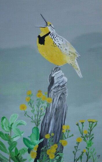 My painting - Bird
