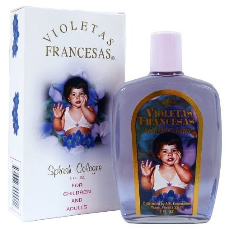 Violeta Francesa Splash Children and Adult Cologne - Keep head lice at bay by putting some of this into your hair after shampooing/drying.