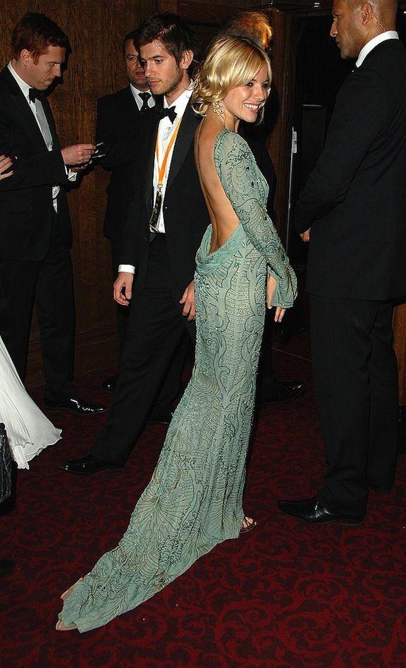 Sienna Miller. Dress!