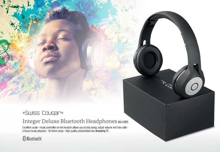 Swiss Cougar Integer Bluetooth Headphones,     #swisscougar  #bluetoothheadphones #headphones  #earphones