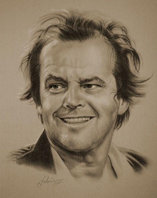 Beautiful Celebrity Pencil Sketches (8 illustrations) - Jack