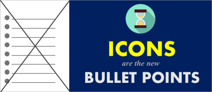 Game Changing PowerPoint Design Hack: Icons are the New Bullet Points [Part 1]