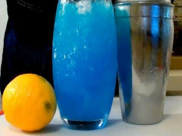 Electric Blue Lemonade Recipe Video by The Kitchen Witch | ifood.tv