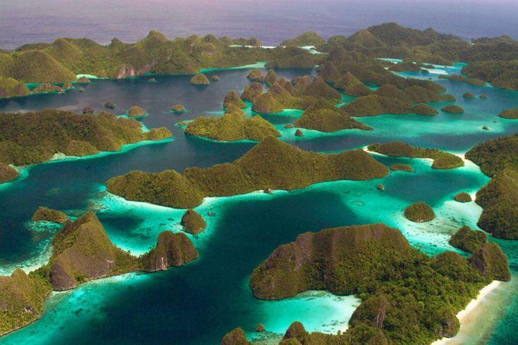 Wayag island at raja ampat