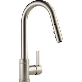 Peerless Apex Stainless 1-Handle Deck Mount Pull-Down Kitchen Faucet P188152lf-Ss