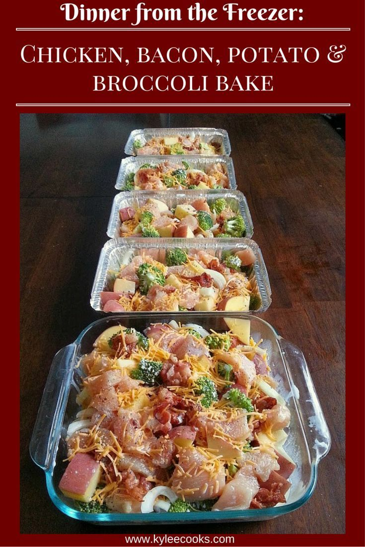 Kylee Cooks: A tasty meal that is easy to double, triple or quadruple, so you have plenty freezer meals when you need one!