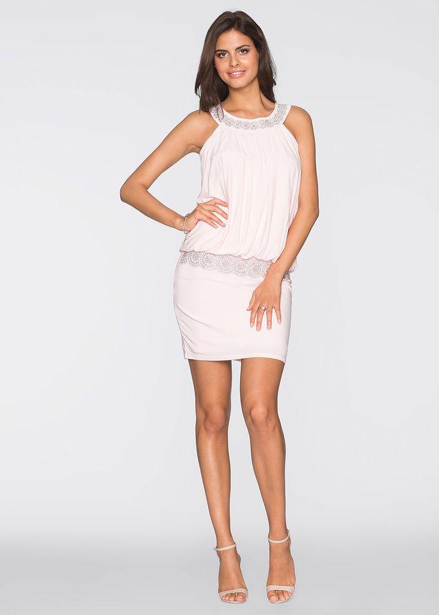 Összehasonlíthatatlan koktél ruha a BODYFLIRT márkától. Dekoltázsán és a csípőrészén strasszkövekkel díszített. Hossza a 38-as méretben kb. 94 cm és a 42-es méretben kb. 96 cm.
