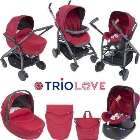 Carro de beb chicco tr o love un cochecito moderno con for Carro compra moderno