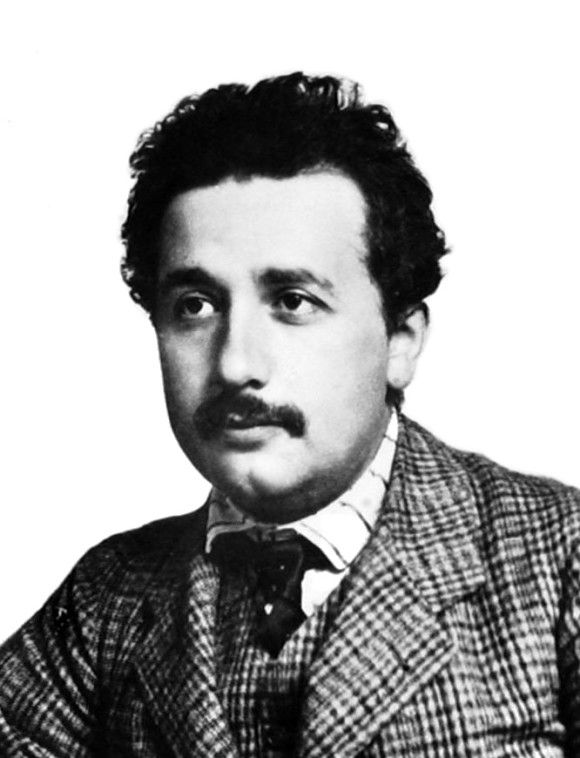 """September 27, 1905. On this date, while he was employed at a patent office, Albert Einstein published a paper titled """"Does the Inertia of a Body Depend Upon Its Energy-Content?"""" It was the last of four papers he submitted that year to the journal Annalen der Physik. The first explained the photoelectric effect, the second offered experimental proof of the existence of atoms, and the third introduced the theory of special relativity."""