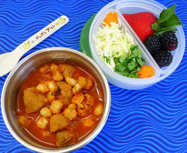 Posole II Bento in LunchBots Thermal Jar by sherimiya ♥, via Flickr