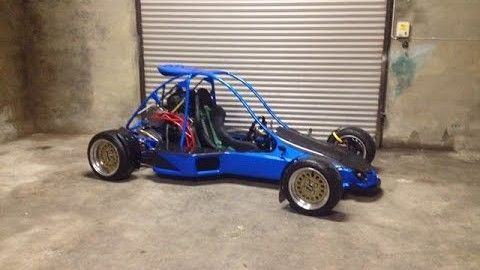 This Man Made Buggy Is Mean And Powerful On The Asphalt!