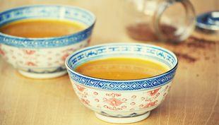 Mézes-köményes sárgarépaleves - Moksha