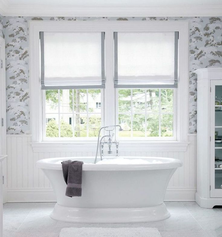 17 Best Ideas About Bathroom Window Treatments On