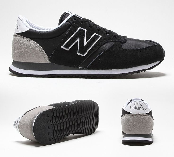 new balance black trainers womens