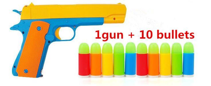 ニースクラシックm1911おもちゃモーゼルピストル子供のおもちゃの銃柔らかい弾丸銃プラスチックリボルバー子供楽しい屋外ゲームシューター安全