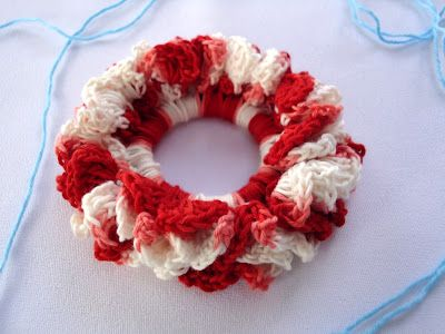 120 Best Hair Scrunchies Images On Pinterest Hair Accessories