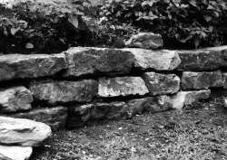 Build a stone wall by Charles Sanders